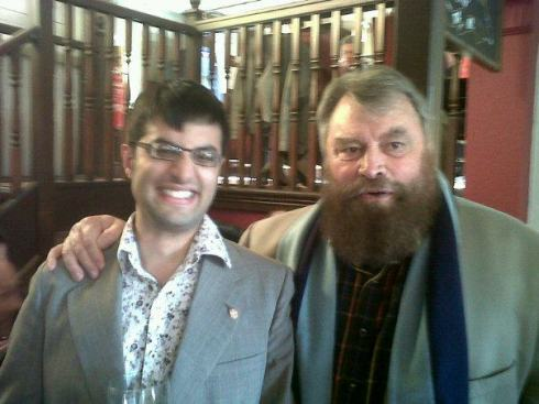 Me with Brian Blessed